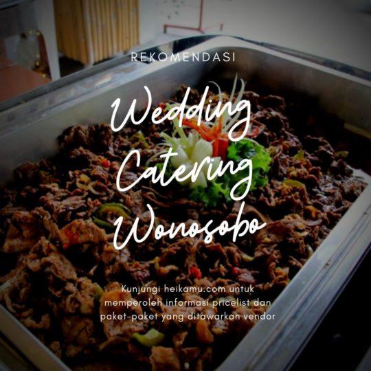 Paket Catering Wonosobo