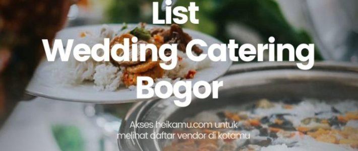 Wedding Catering Bogor
