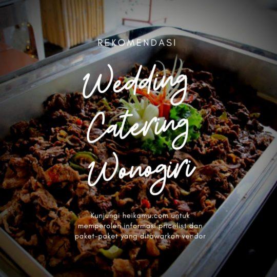 Paket Catering Wonogiri