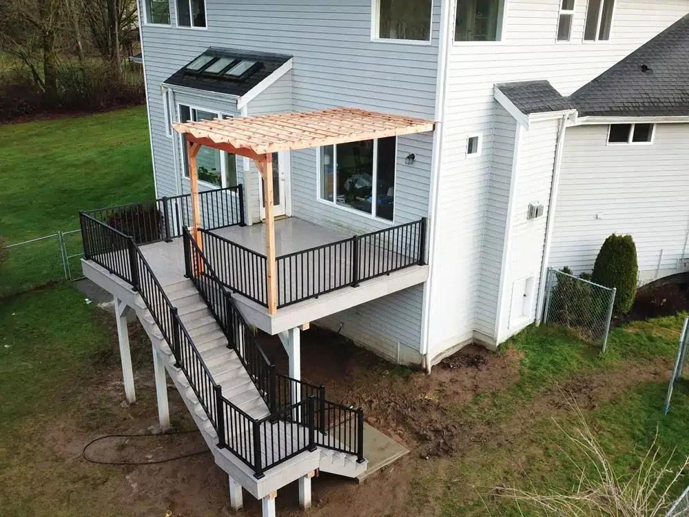 Outdoor Living Spaces Contractor on the Eastside   Heilman Deck & Fence