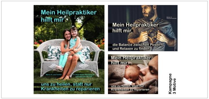 """Auch Heilpraktiker-Patienten werden gehört: erzählen Sie Ihre Geschichte, wie Ihnen Ihr Heilpraktiker helfen konnte / Start der Kampagne """"Mein Heilpraktiker hilft mir"""""""