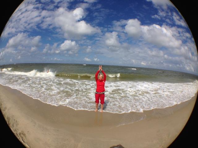 Qigong am Meer