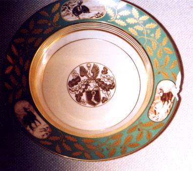 Herman Goring Dinner Plate
