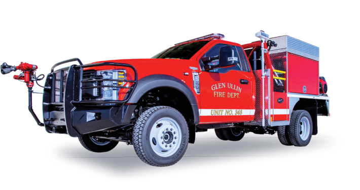 Glen Ullin Fire Department North Dakota - Heiman Fire Wildland Apparatus