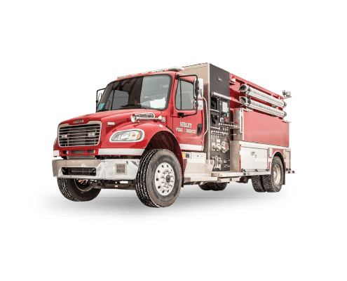 Sibley Fire & Rescue, Iowa - Heiman Fire Rosenbauer Pumper