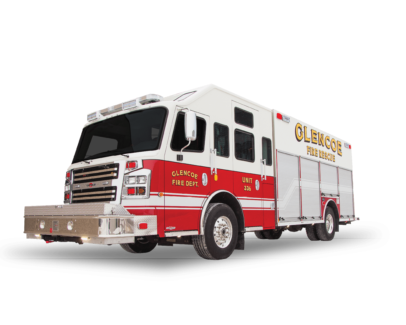 Heiman Fire - Rosenbauer Commander for Glencoe Minnesota