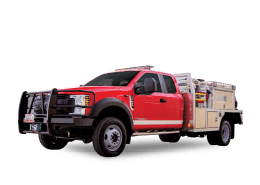 Heiman Fire wildland apparatus for Lathrop Missouri Fire