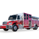 Heiman Fire Rosenbauer Pumper St James Minnesota