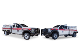 Three Affiliated Tribes North Dakota Wildland Trucks
