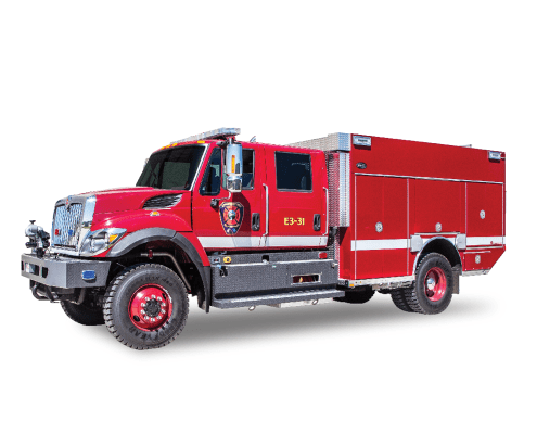 Heiman Fire Spearfish Fire Department Rosenbauer Pumper