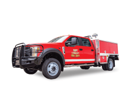 Burt Iowa Fire Wildland brush truck