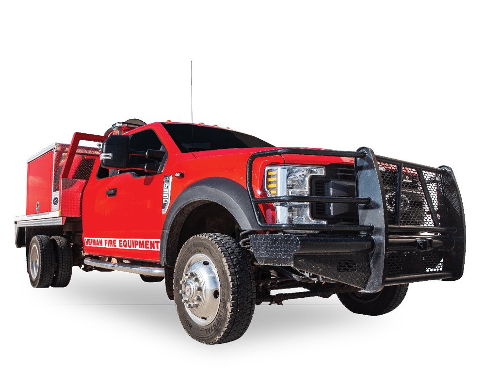 Heiman Fire Wildland Brush Truck