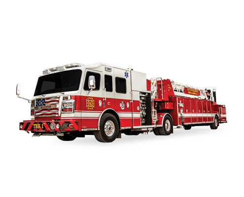Heiman Fire - Rosenbauer Tiller - Williston, ND