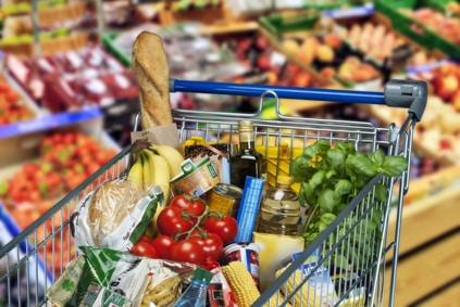 Mit Nielsen Homescan Geld verdienen: Voller Einkaufswagen