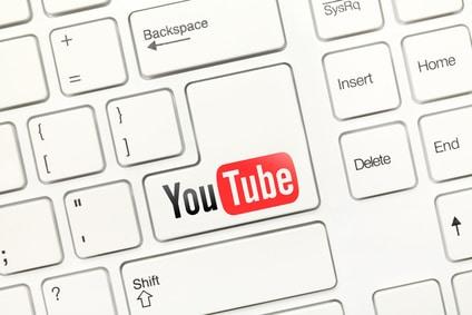 Heimarbeit mit Youtube: Logo auf Entertaste