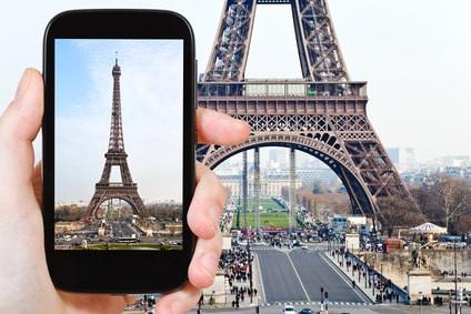 Eigenes Eiffelturm-Foto verkaufen von daheim