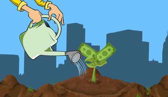 Forex-Signale als Heimarbeit: Gießkanne lässt Geld wachsen