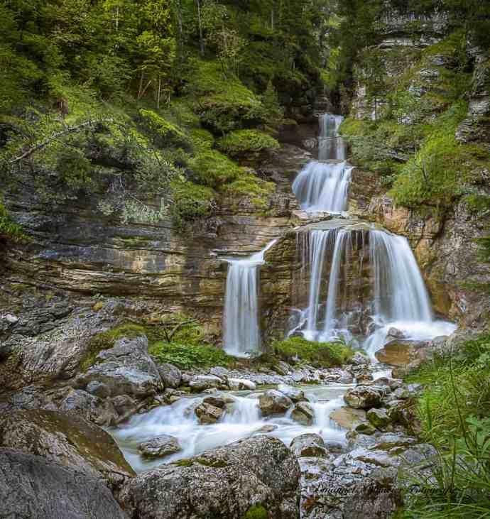 Farchant Kuhfluchtwasserfälle