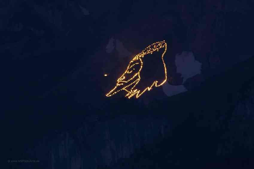 Sonnwend Zugspitzarena Sonnenspitze Mann