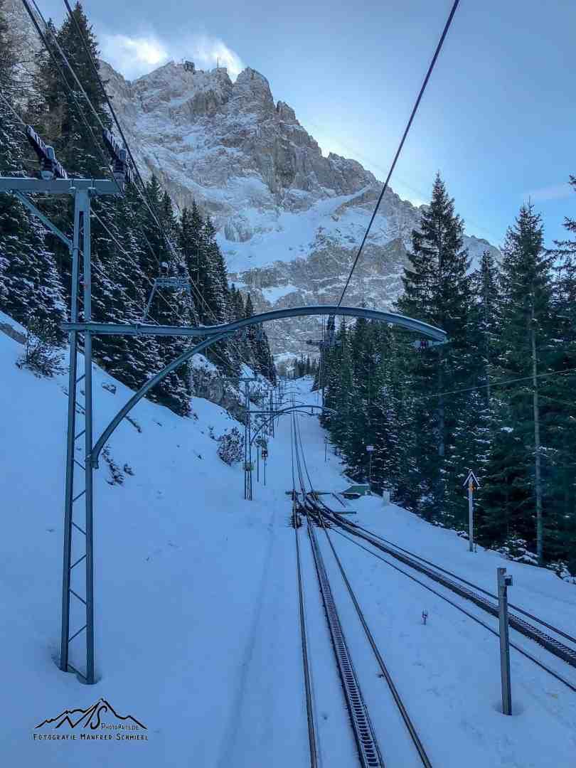Zugspitzblicke im Winter