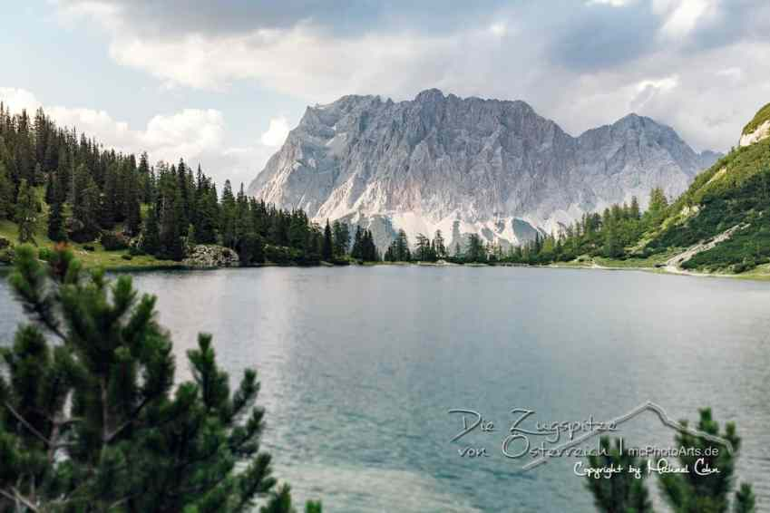 Die Zugspitze von Österreich