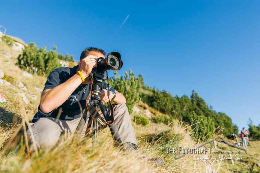 Der Fotograf Michael Cohn