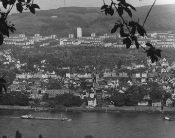 1970 Horchheim Ansicht mit Horchheimer Höhe vom Rittersturz K.H. Melters
