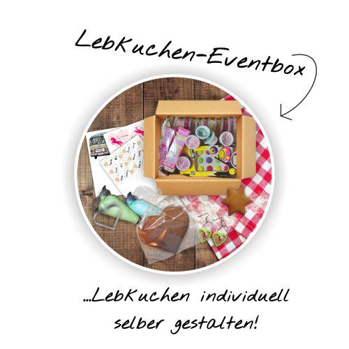 Lebkuchen—Eventbox …Lebkuchen individuell selber gestalten
