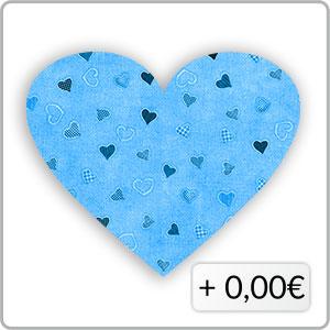 Herzen dunkelblau