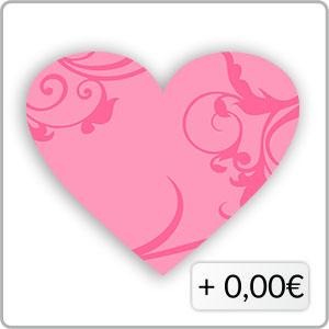 Schnörkel pink
