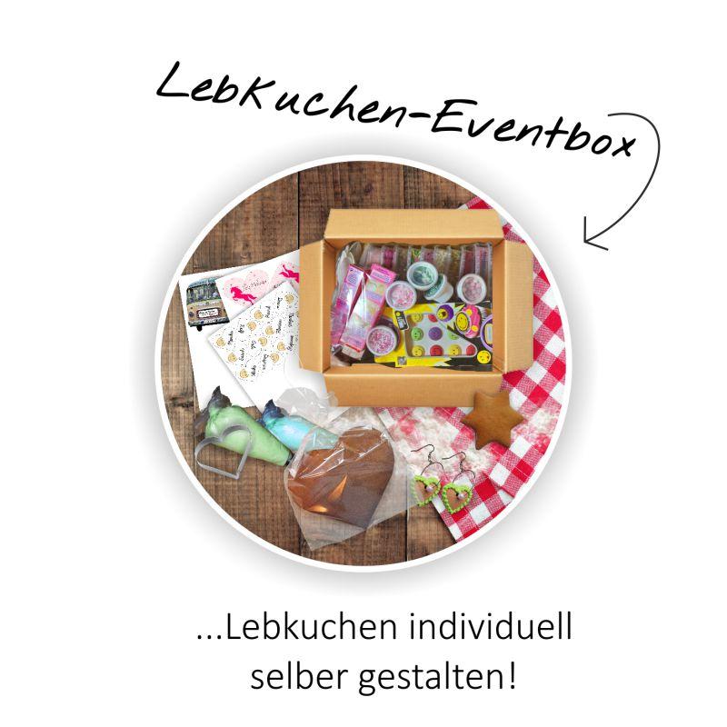 Lebkuchen-Eventbox - Lebkuchen individuell selber gestalten