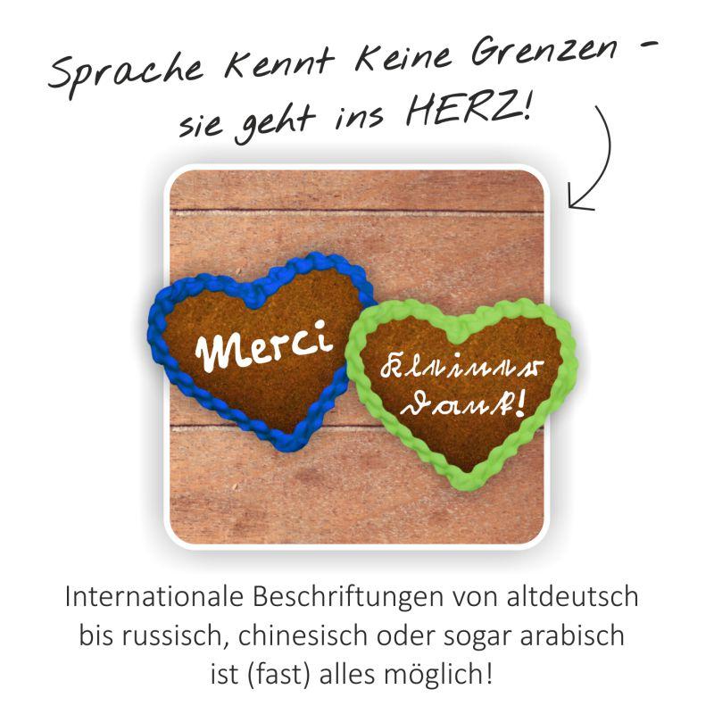 Sprache kennt keine Grenzen - sie geht ins Herz