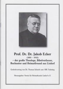 .Dr. Jakob Ecker