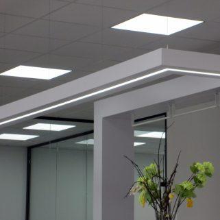 Lichtbord mit LED