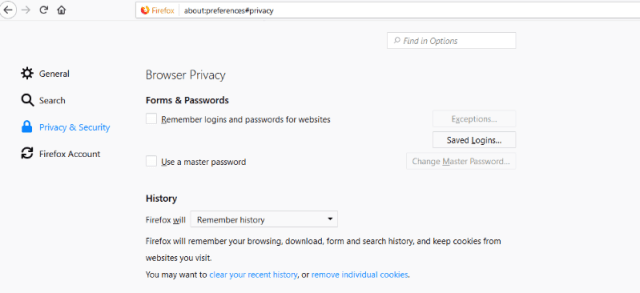 firefox 57 quantum privacy browser security