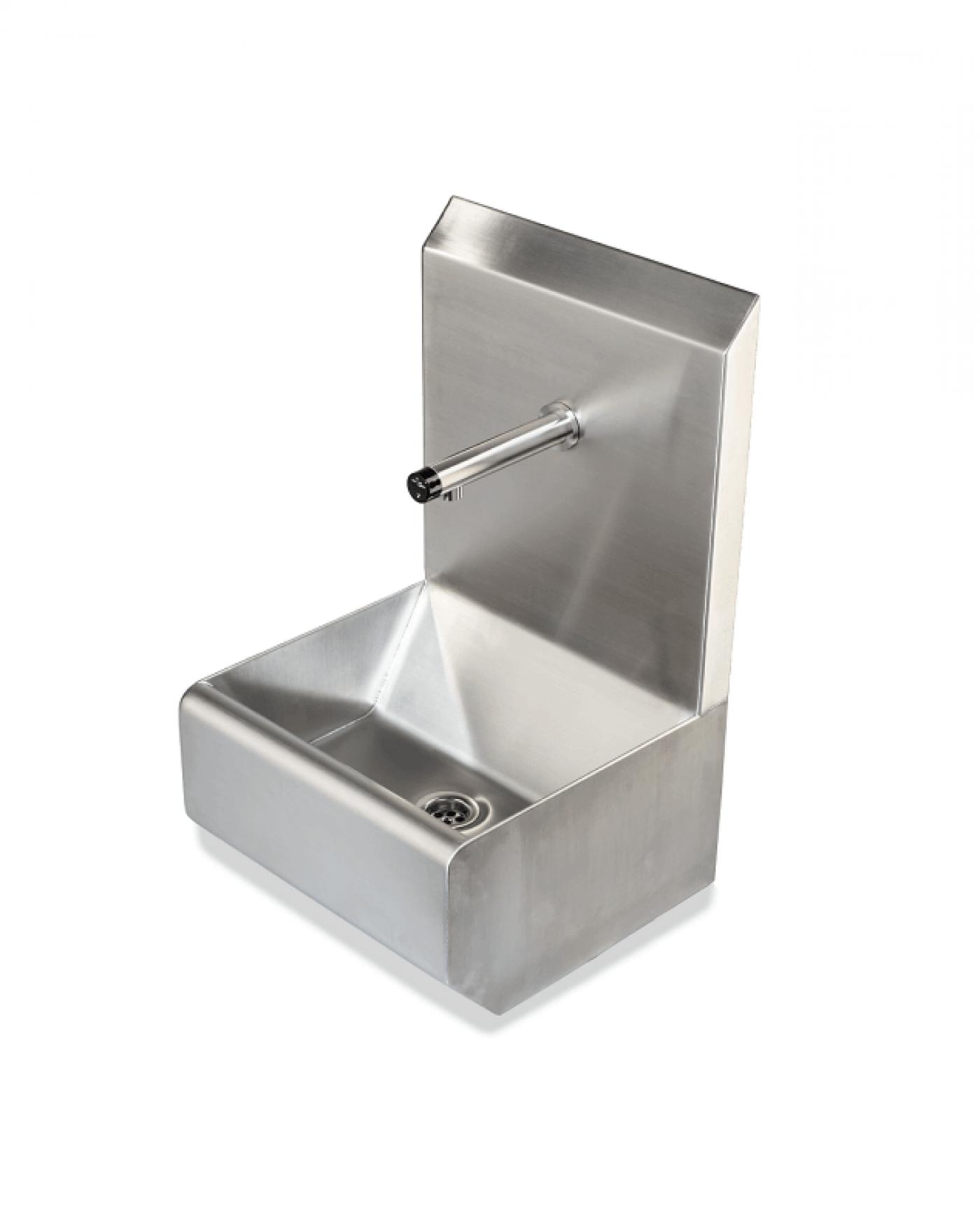 Handwaschrinne und Handwaschbekcen aus Edelstahl