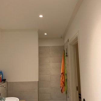 Licht im Badezimmer
