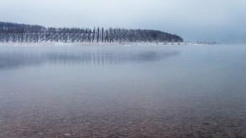Berzdorfer See unter Eis