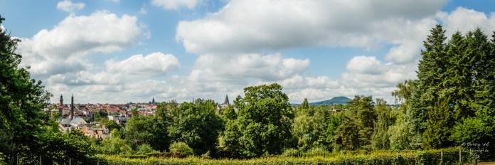 Panorama vom Krematorium