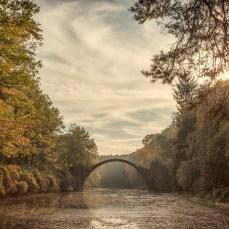 Die Rakotzbrücke.