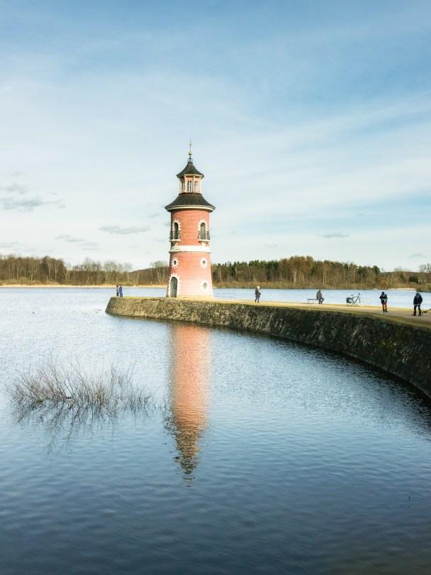 Leuchtturm Moritzburg.