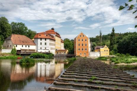Die Obermühle.