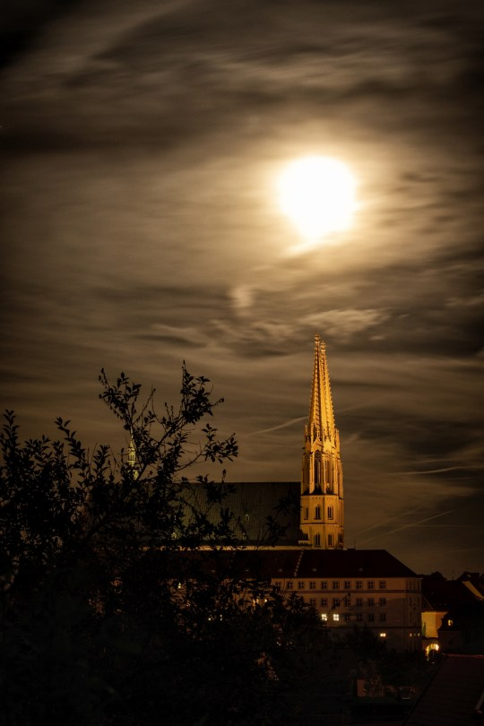 Nacht über Görlitz.