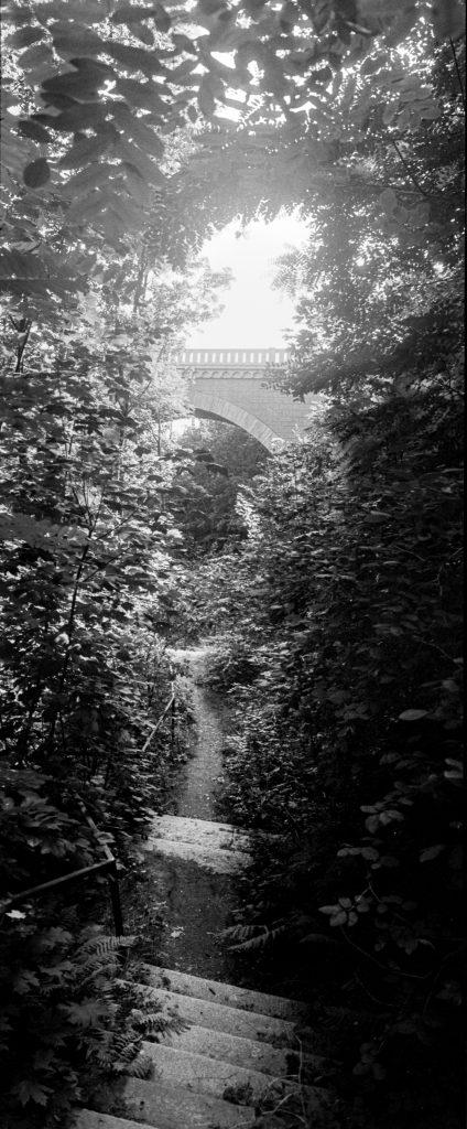 Unterm Viadukt.