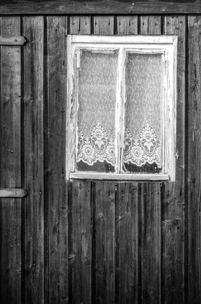 Fassade und Fenster mit Flair.