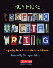 crafting digital writing cover