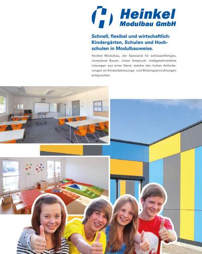 , Schulen und Kindergärten, Heinkel Modulbau