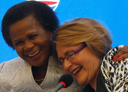 Helen and Mamphele (Photo credit: Times Live)