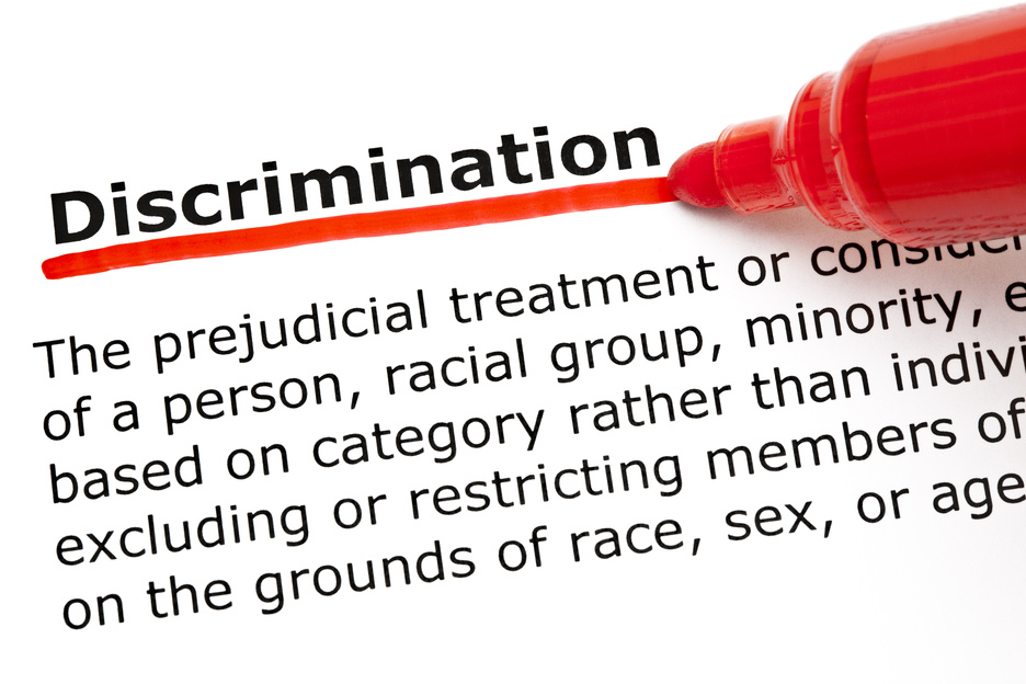 011740673 discrimination underlined red 1 - Wisconsin Disability Discrimination Lawyers