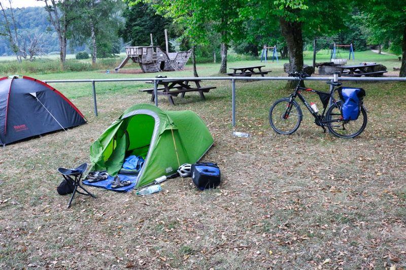 Wildcampen auf Rad - Wanderreisen